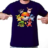 Camiseta Pokemon Pikachu - PokeRangers - Anime - Masculina - GG