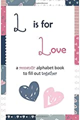 L is for love: (Gray-Pink-Navy) Paperback