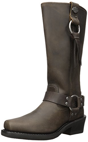 - Harley-Davidson Women's Fenmore Motorcycle Boot, Brown, 7.5 Medium US