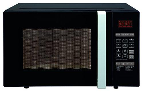 Comfee CMWGH 23B Mikrowelle / 800 W / 23L Garraum / 3-in-1 / Grill / Heißluft Einzel oder Kombi-Betrieb / 23 L Fassungsvermögen / schwarz