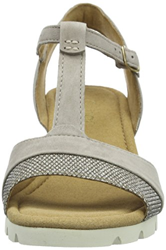 Gabor Gabor Comfort - Sandalias Mujer Gris (42 koala/argento)