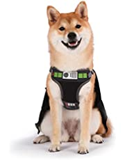 Star Wars Cosplay Dog Harness Dogs - No Escape Harness, No Pull Dog Harness - Star Wars Merch for Dogs or Star Wars Pet Costume - Star Wars Dog Harness, Chewbacca Dog Harness, Darth Vader Dog Harness