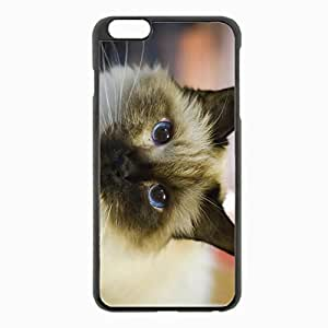 iPhone 6 Plus Black Hardshell Case 5.5inch - sad eyes eyed Desin Images Protector Back Cover by runtopwell