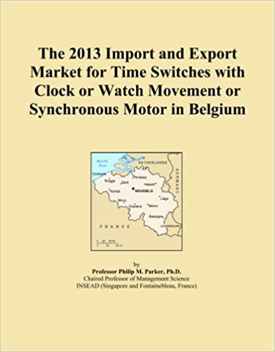 The 2013 Import and Export Market for Time Switches with Clock or Watch Movement or Synchronous Motor in Belgium