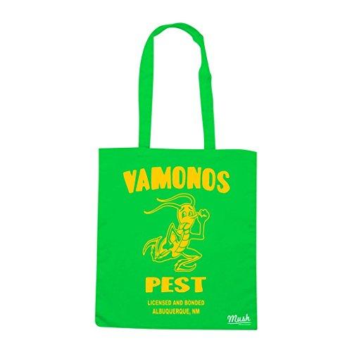 Borsa Vamonos Pest Breaking Bad - Verde prato - Film by Mush Dress Your Style