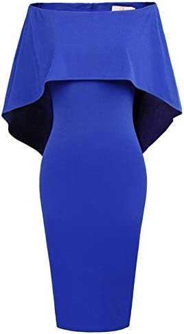 Royal blue wedding dress _image2