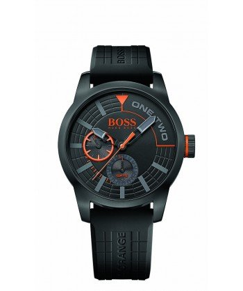 Hugo Boss Orange 1513306 - Tokyo watch Black Gents Watch With DayDate