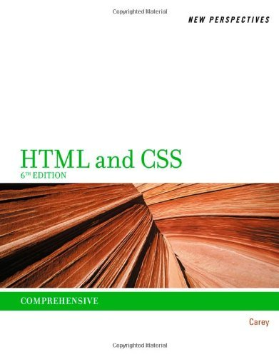 By Patrick Carey - New Perspectives on HTML and XHTML: Compr