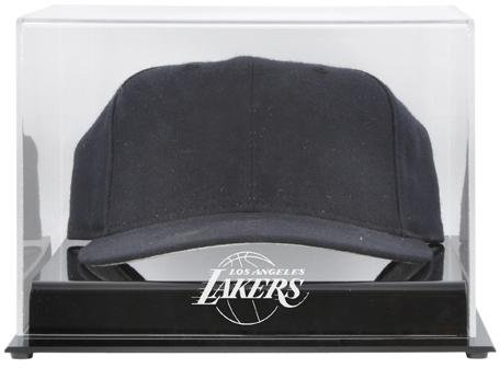 Los Angeles Lakers Acrylic Cap Logo Display Case