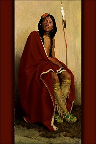 24x36 Poster; Eanger Irving Couse - Elk-Foot ()