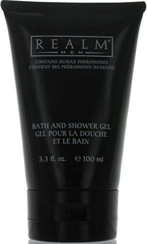 Realm Men's Bath and Shower Gel with Fragrance 3.3 Oz. Tube