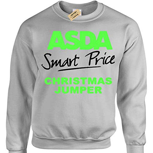 matching in colour choose clearance lower price with Asda Smart Price Jumper Mens funny xmas joke sweatshirt gift ...