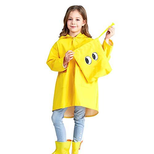 xinzhi Kids Rain Coat Kids Rainwear Children Raincoat Dinosaur Design PVC + PU Outerwear Gift Rainsuit Camping Wear Resistant Sports Outdoor