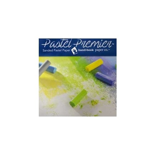Pastel Premier Sanded Pastel Paper - Sheets - Medium Grit - White 26''x20'' 10 Sheet Pack
