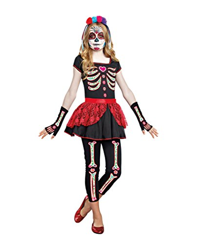 Sugar (Traditional Sugar Skull Costume)