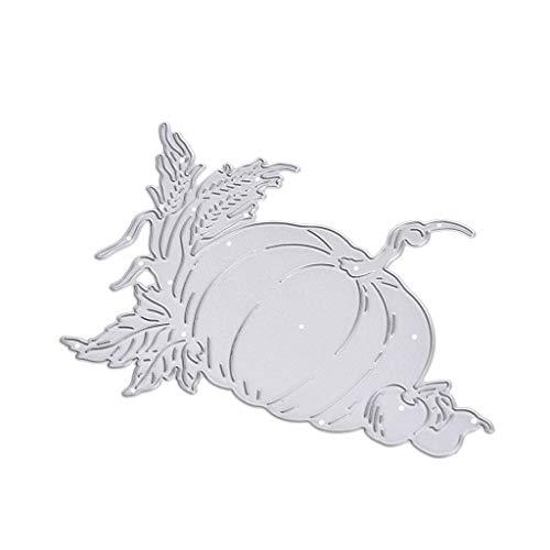 Ladaidra Halloween Pumpkin Cutting Dies Stencil Scrapbooking Embossing Paper Card Decor ()