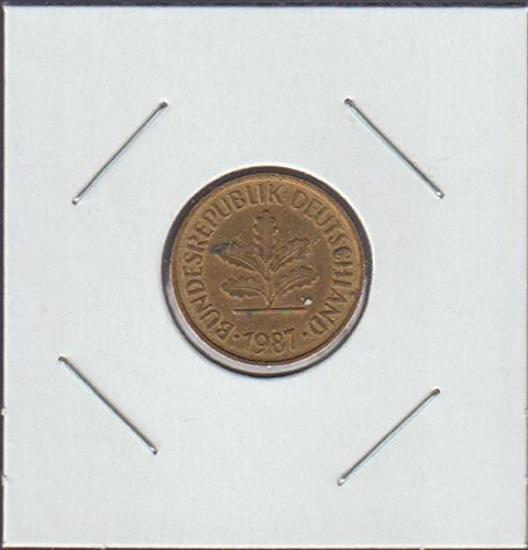 1987 Germany Five Oak Leaves Nickel Choice Fine ()