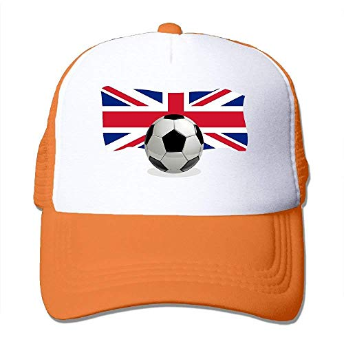 NDJHEH Tone Hat Trucker England Hat béisbol Mesh Two Flag Soccer Gorras Ball Adjustable with Z4wqxUZ