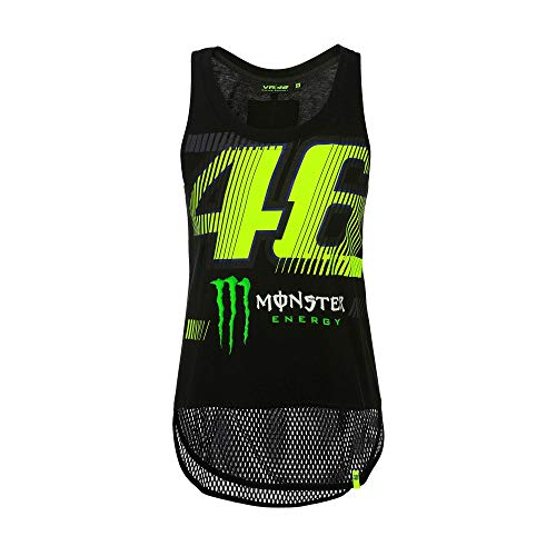 (Valentino Rossi VR46 VR46 Valentino Rossi Womens Monza 46 Monster Tank Top 2019 L)