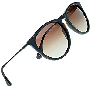 Women's Polarized Sunglasses from EYE LOVE, Designer, 100% UV Block + 4 BONUSES, Brown
