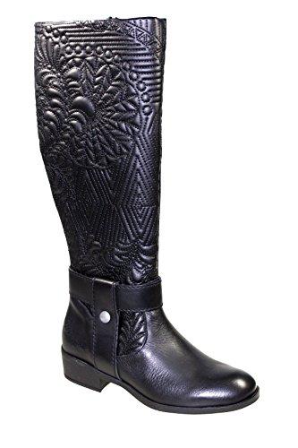 Desigual 17wstla5 Damesschoenen Laarzen Zwart Zwart