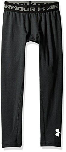 Under Armour Jungen CG Leggings Fitness-Hosen & Shorts, Black, S