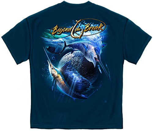 Fishing Tackle kit | Sail Fish Baller Off Shore Fishing T Shirt BTB2392XL