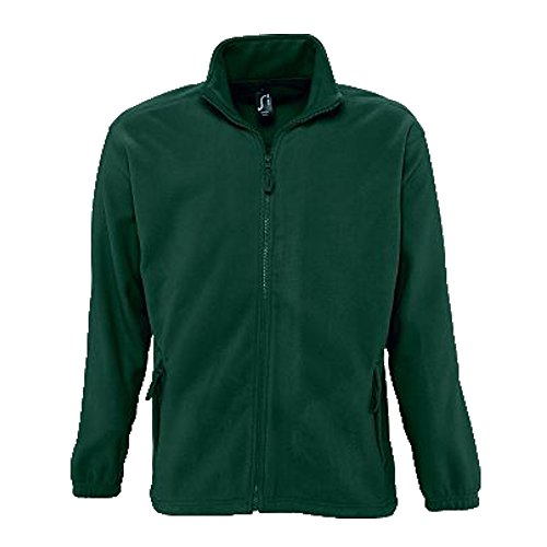 Sols Fleecejacke Fleece Jacke North bis Gr. 5XL ,Fir Green, M