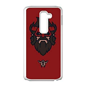 LG G2 Cell Phone Case White Defense Of The Ancients Dota 2 BEASTMASTER 003 KWL0567119