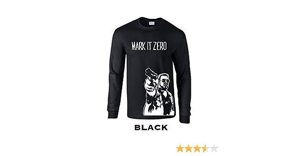 Swaffy Tees 7 Mark It Zero Funny Adult Long Sleeve T Shirt