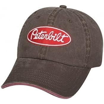 Amazon.com  Peterbilt Motors Mesh Back Black Cap  Sports   Outdoors ccd656ed675
