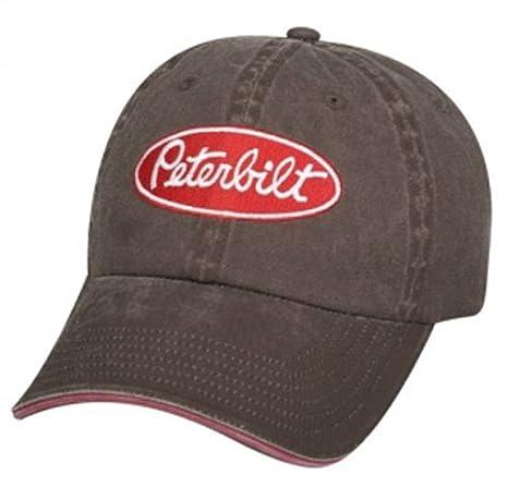 Amazon.com  Peterbilt Motors Pigment Dyed Cap  Sports   Outdoors 82bd95a71131