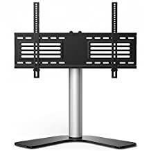 FITUEYES Universal TV Stand /Base Swivel Tabletop TV Stand with mount for 32- 65 inch Flat screen Tvs/xbox One/tv Component /Vizio Tv TT106001GB
