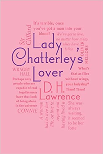 Image result for lady chatterley's lover word cloud