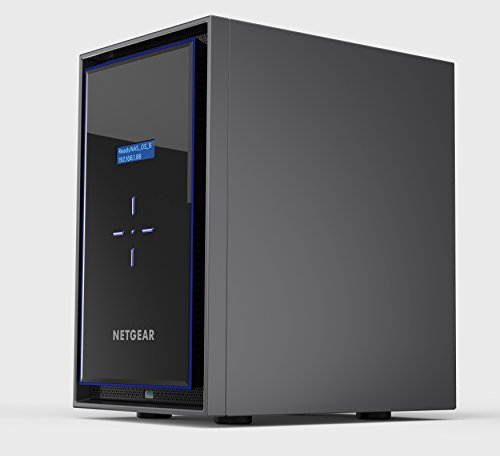 NETGEAR ReadyNAS RN428 8 Bay Diskless High Performance NAS, 80TB Capacity Network Attached Storage, Intel 2.1GHz Quad Core Processor, 4GB RAM, (RN42800) by NETGEAR (Image #1)