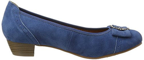 Heels 274 Closed Toe 3009220 Jeans Blue Hirschkogel Women's UwqBSxvB6I