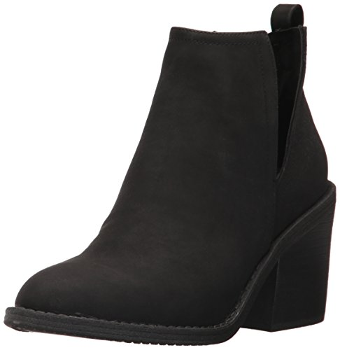 Distressed Fashion Boots - 7