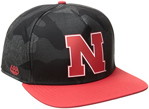 686x47 NCAA Nebraska Cornhuskers Toasty Snapback Cap, One Si