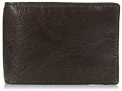 A classic bifold with a twist: we've added a money clip on the inside for fast access to your cards and cash.