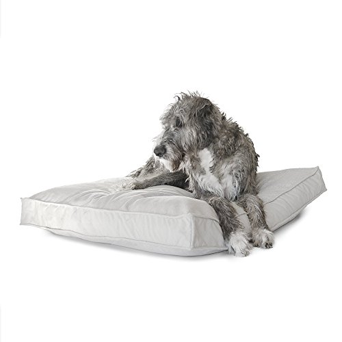 Perennials Everywhere Pet Bed in Light Gray, 39