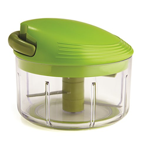 Kuhn Rikon Pull Chop, 2 Cup Food Chopper, Green
