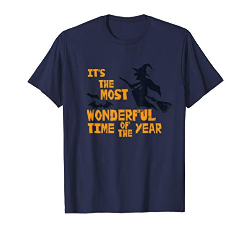 Its the Most Wonderful Time of the Year Funny Halloween Xmas T-Shirt -