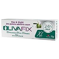 Natural Strong Denture Adhesive Olivafix holds denture 24 hours NO Zinc NO Petrochemical NO Additives