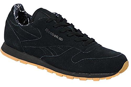Reebok Unisex-Kinder CL Bandana Pack Niedrige Sneaker Schwarz