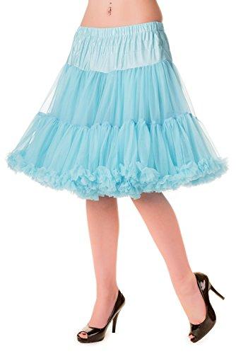 Rouge Jupon Banned Jupe Froufrou Bleu A Bleu 50cm Jupe Sous f04qO7xg4n