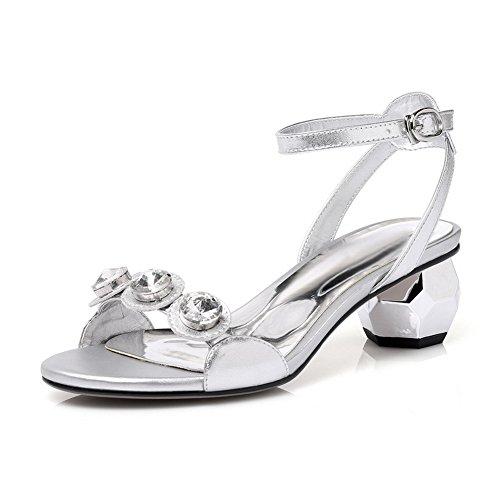 1to9 Sconosciuto silver Ballerine Mjs03498 Argento 35 Donna Bqw7rq61dx