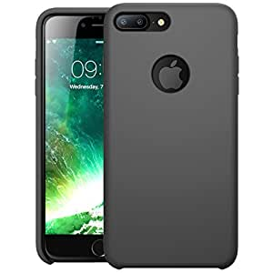 iPhone 7 Plus Case, i-Blason Silicone [Flexible] [Shock Absorbing] Case for Apple iPhone 7 Plus 2016 Release (Gray) …