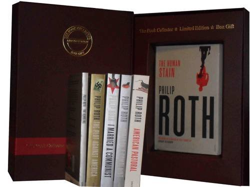 Philip Roth 6 Books Collection Pack Set: (American Pastoral, The Human Stain, I Married a Communist, Pprtnoy's Complaint, The Plot Against America & The Humbling)