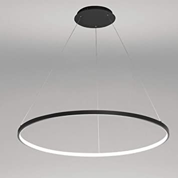 lamparas logante led circulo
