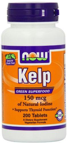 Kelp 150 µg (Jod-Quelle) 200 Tabletten NOW